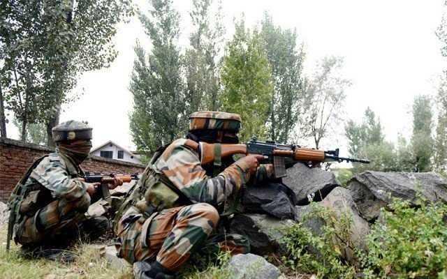 Civilian injured in Indian