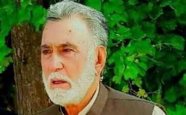 Syed Fazal Agha death