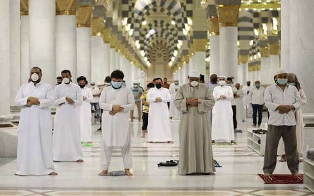 The Prophet's Mosque Reopened
