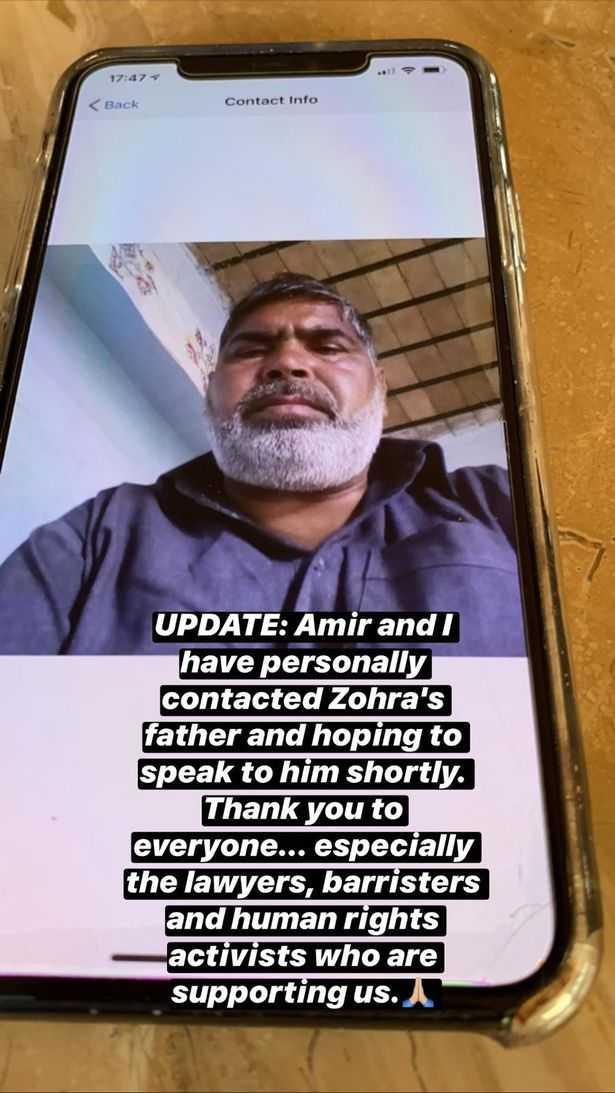 Zohra's father