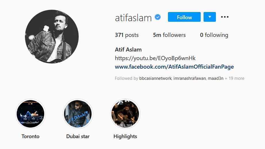 5m followers
