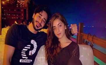 Noaman Sami and Alizeh Shah