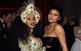 Kylie Jenner and Cardi B