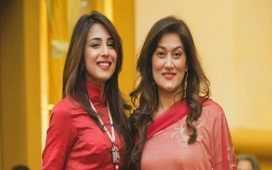 Ushna Shah's Wish for Sister