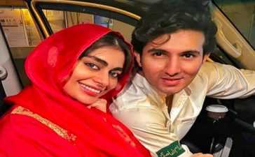 Sadaf Kanwal's wedding with Shahroz