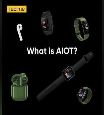 Realme's AIOT launch