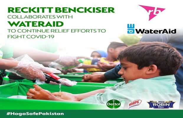 Reckitt Benckiser Collaboration With WaterAid
