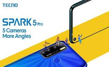 SPARK 5 Pro Launched