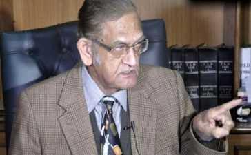 Senior jurist AK Dogar death