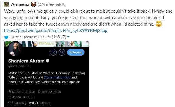 armeena tweets