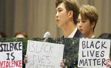 bts donation for blacklives protesters