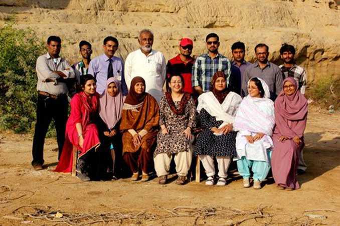 Dr. Anita Zaidi with team