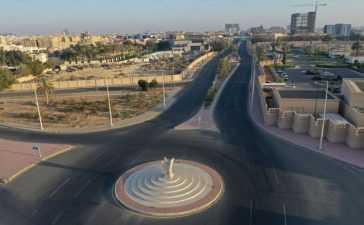 The curfew in Jeddah