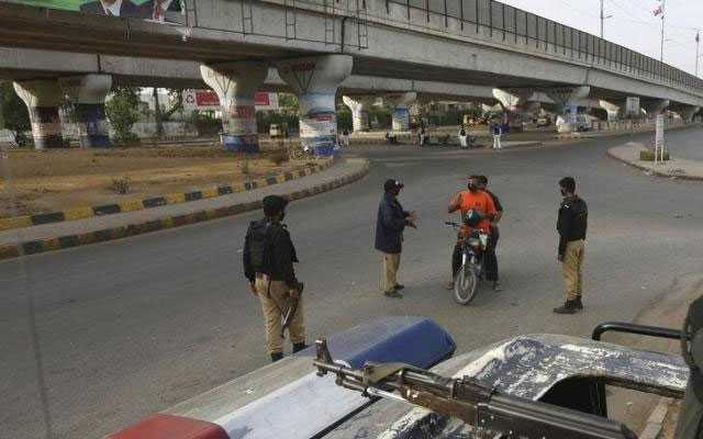 Smart lockdown in Karachi