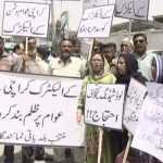 Karachiites protest over prolonged power outages, over-billing by KE