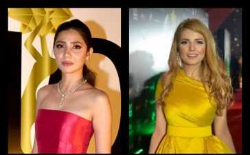 Mahira Khan and Momina Mustehsan