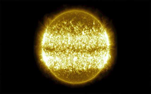 NASA releases incredible time-lapse video showing the Sun over ten years