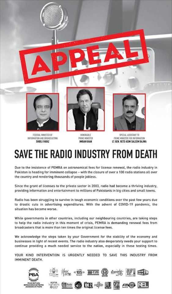 appeal radio industry