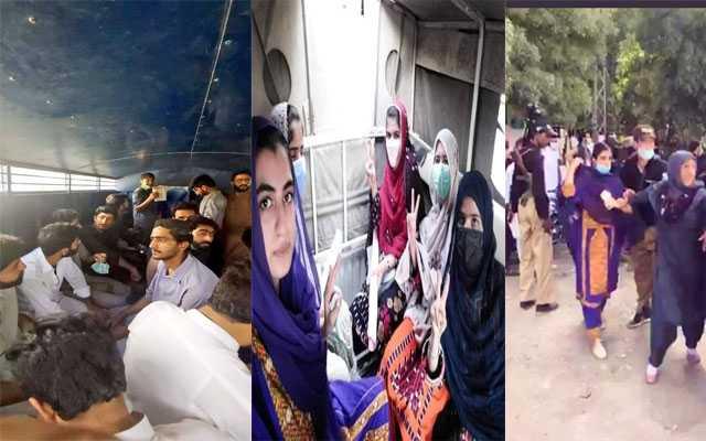 students protest in Quetta