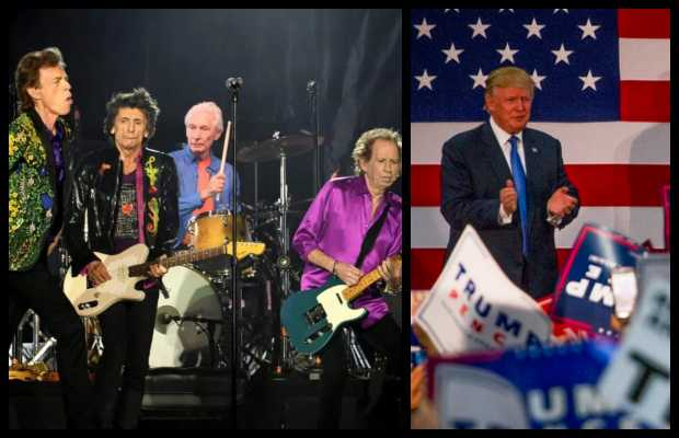 Rolling Stones Warns Trump Not to Use Their Songs