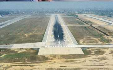 lahore airport runway closed