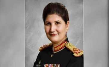 first female Lt. Gen of Pakistan Army