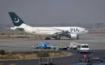 PIA Resumed flights