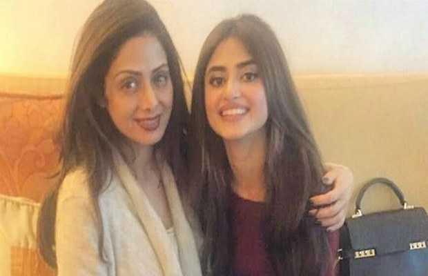 Sajal Aly's mom