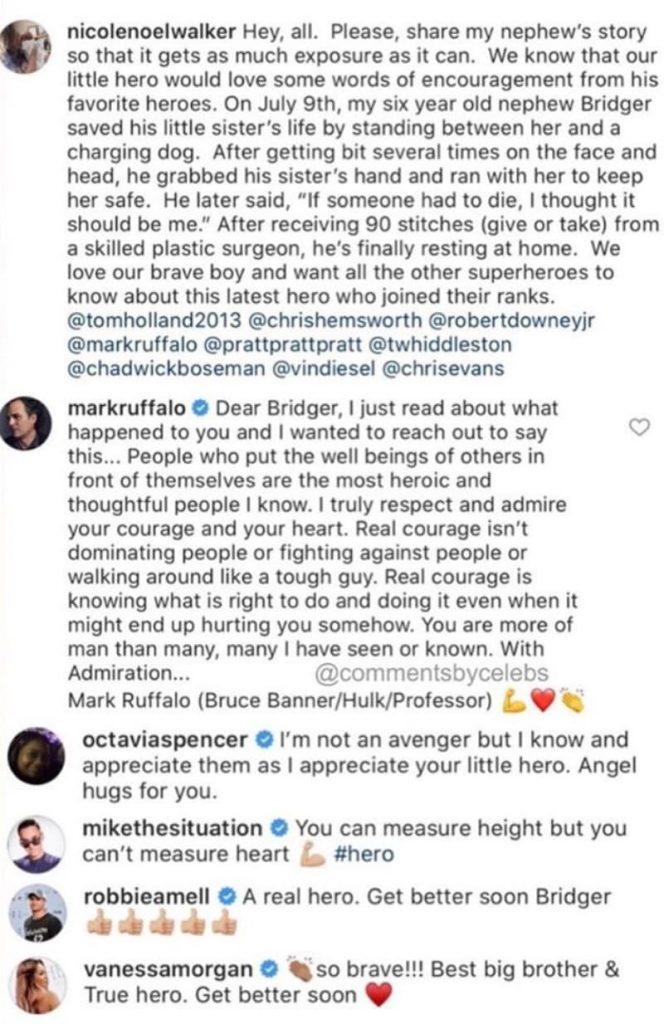 celebrities messages