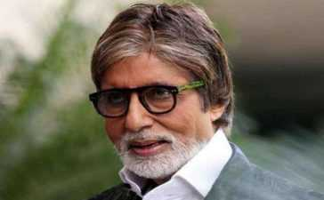 Amitabh admitted in hospital