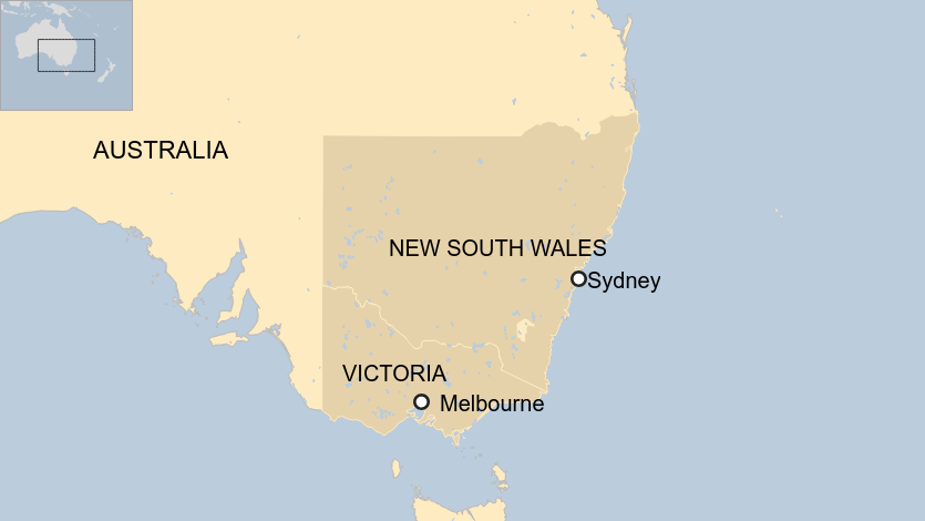 Victoria and New South Wales