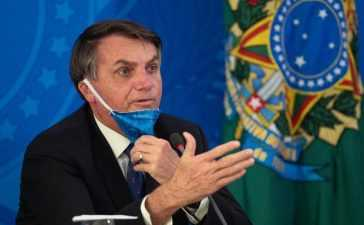 Brazil's President affected virus