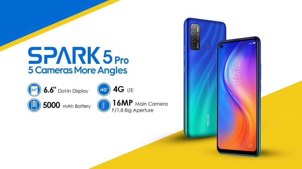 SPARK 5pro specification