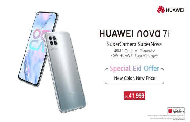HUAWEI Nova 7i's new edition