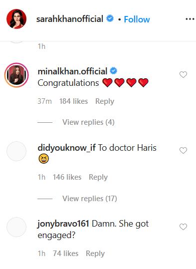 sara khan insta post