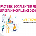 Launch of Impact Link: Social Enterprise Prize Challenge 2020