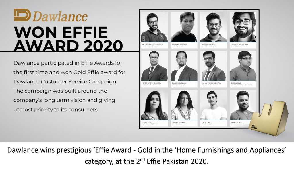 Dawlance EFFIE AWARD 2020
