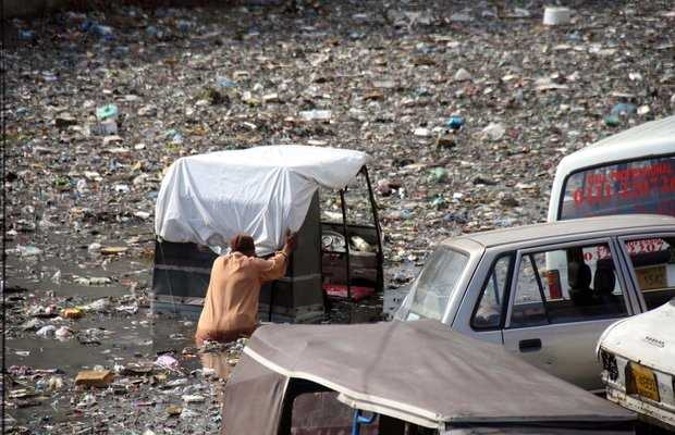 Karachi's Grim Situation
