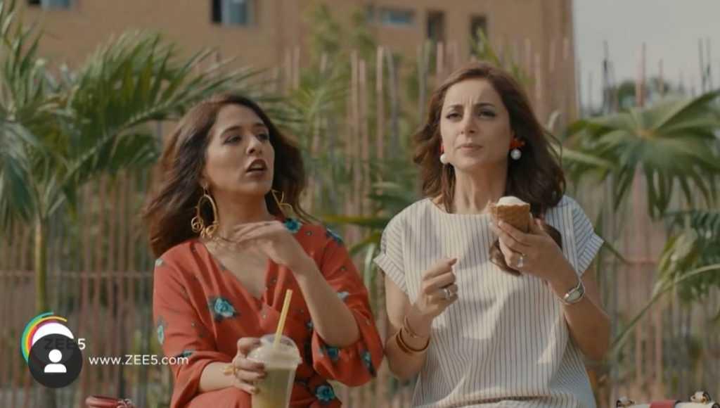 Yasra Rizvi and arwat Gilani