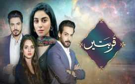 Qurbatain new hum tv drama