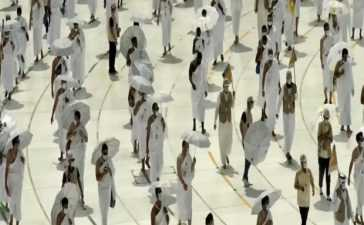 downsized Hajj