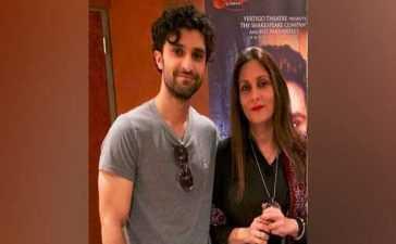 Ahad Raza Mir's mother