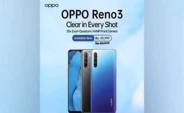 OPPO Reno3 specification