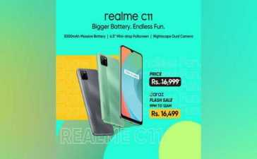 Realme C11 features