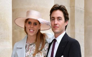 Beatrice marries Edoardo Mapelli Mozzi