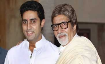The Bachchan father and son