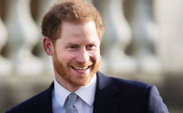 Prince Harry career in us