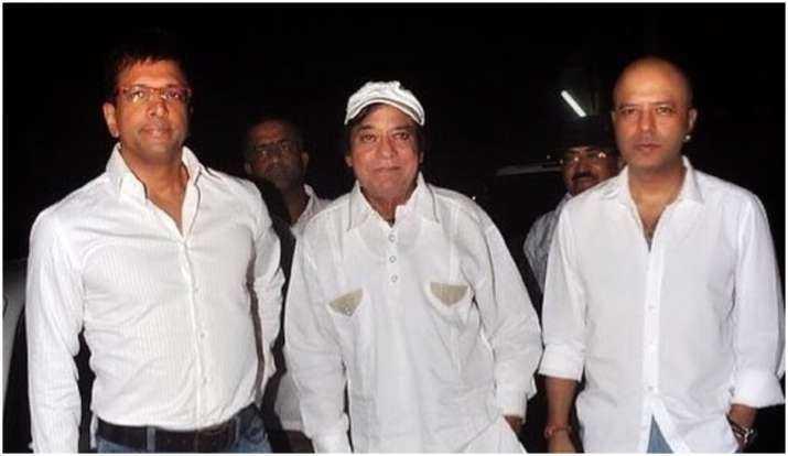 Jagdeep with hollywood celebs