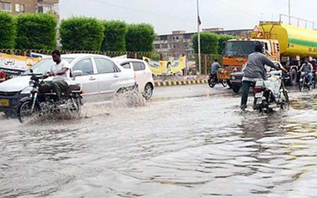 Rains in Karachi