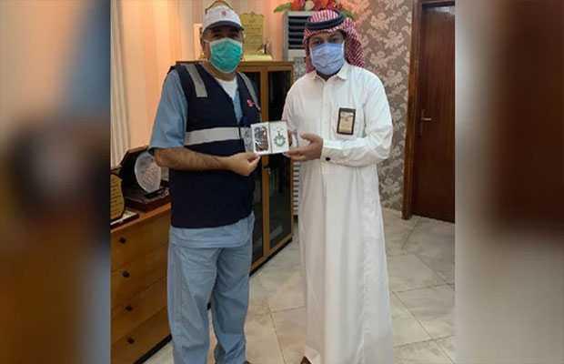 doctor got medal in Saudi